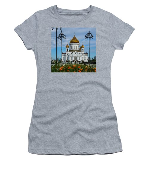 Cathedral Of Christ The Savior Of Moscow - Russia - Featured 3 Women's T-Shirt (Athletic Fit)