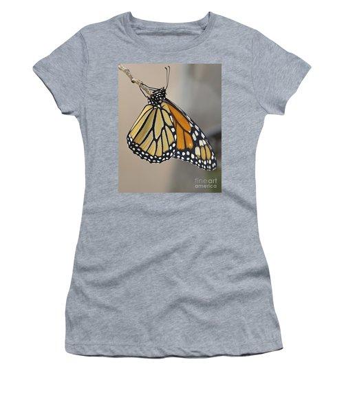 #6 Has Left The Building Women's T-Shirt (Athletic Fit)