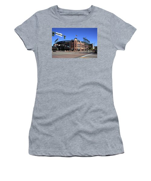 Coors Field - Colorado Rockies Women's T-Shirt (Athletic Fit)