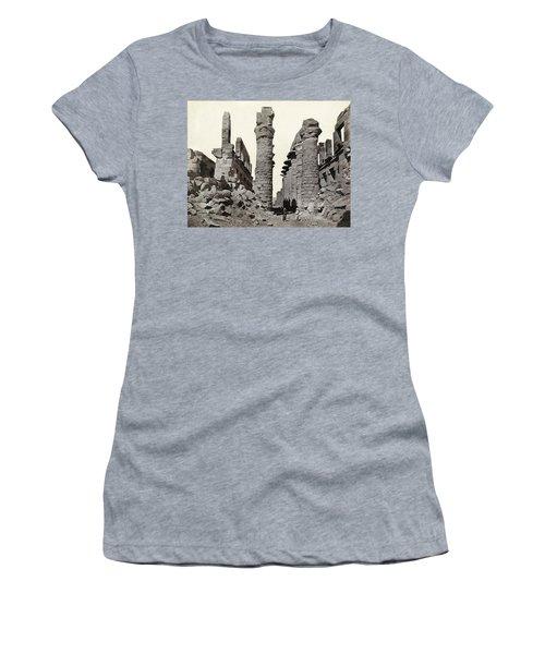 Egypt Karnak Ruins Women's T-Shirt