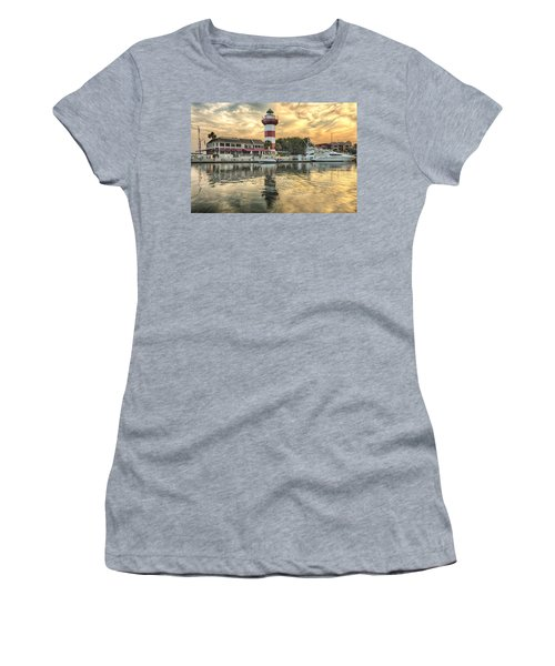 Lighthouse On Hilton Head Island Women's T-Shirt (Athletic Fit)