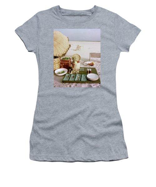 A Beach Picnic Women's T-Shirt