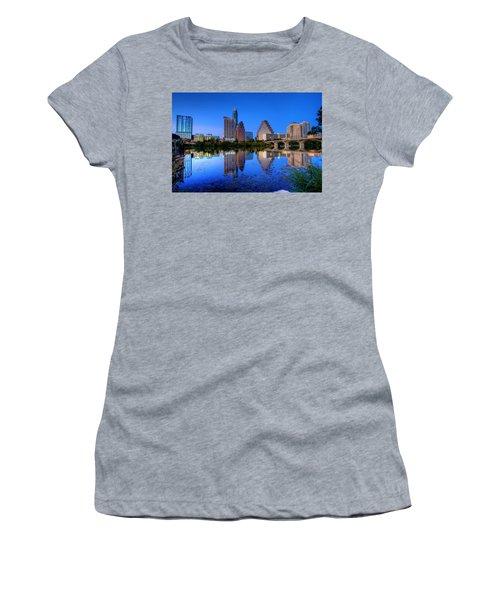 A Beautiful Austin Evening Women's T-Shirt (Athletic Fit)