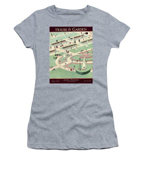 A Formally Designed Park Women's T-Shirt