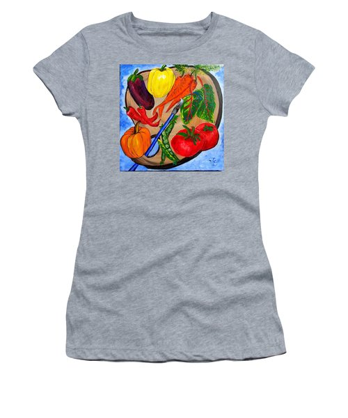 A Gardeners Palette Women's T-Shirt (Athletic Fit)