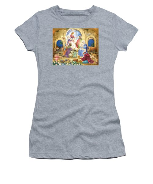 A Glorious Nativity Women's T-Shirt (Athletic Fit)