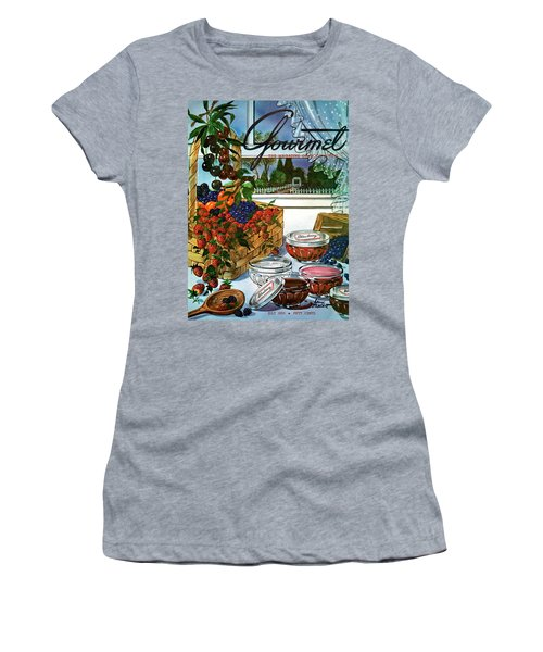 A Gourmet Cover Of A Fruit Basket Women's T-Shirt