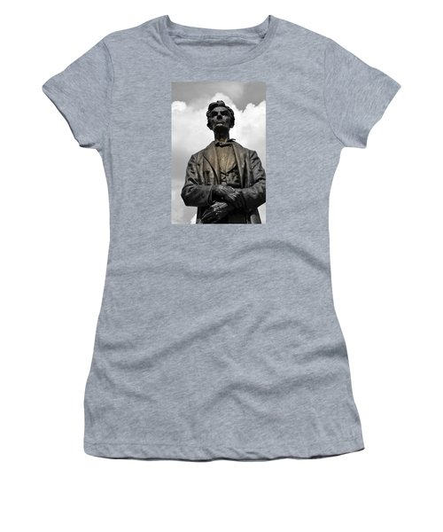 A Great Man Women's T-Shirt (Junior Cut) by Kathy Barney