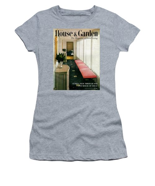 A House And Garden Cover Of A Hallway Women's T-Shirt