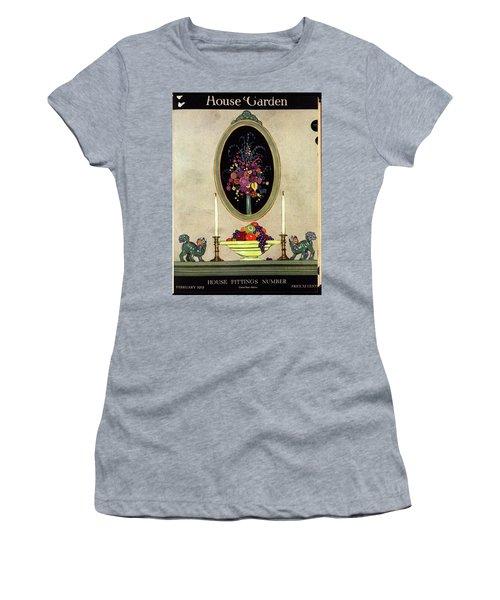 A House And Garden Cover Of A Mantelpiece Women's T-Shirt