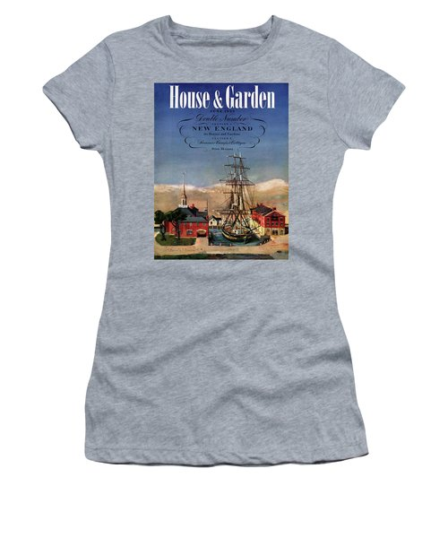 A House And Garden Cover Of A Model Ship Women's T-Shirt
