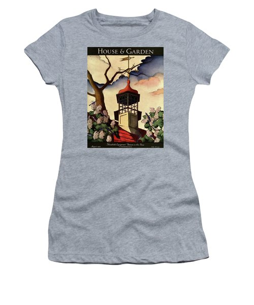 A House And Garden Cover Of A Weathervane Women's T-Shirt