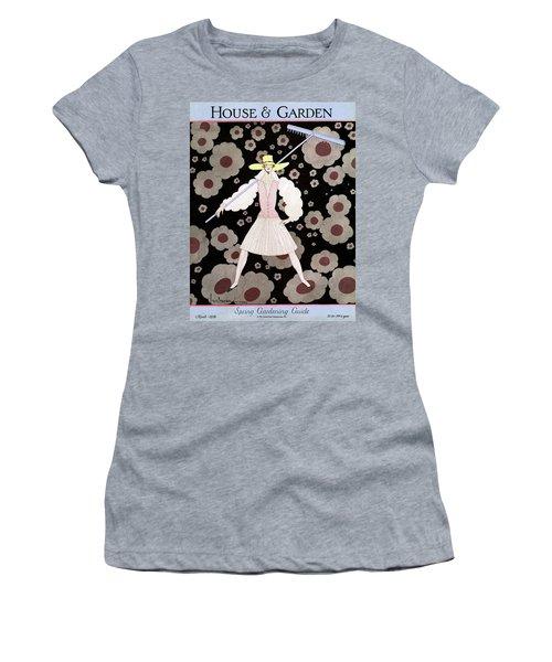 A Model With A Rake Women's T-Shirt