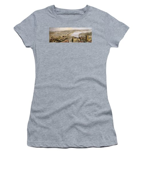 A Panoramic View Of London Women's T-Shirt (Junior Cut) by English School