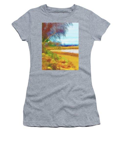 A Rocky Beach Women's T-Shirt