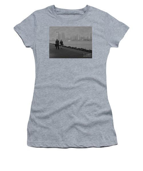 A Romantic Walk 2 Women's T-Shirt (Athletic Fit)