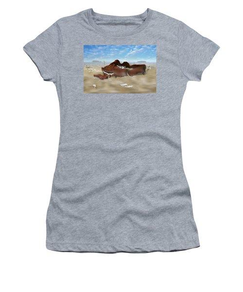 A Slow Death In Piano Valley Women's T-Shirt (Athletic Fit)