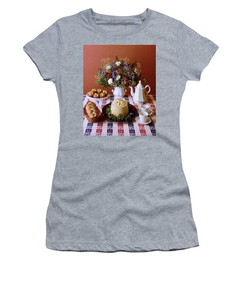 A Table Of Pastries Women's T-Shirt