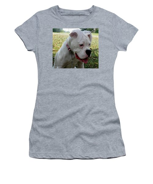 Women's T-Shirt (Junior Cut) featuring the photograph A Tear Shed by Maria Urso