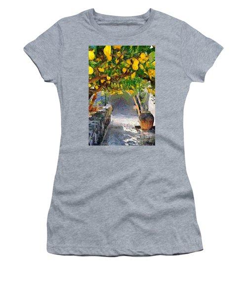A Voult Of Lemons Women's T-Shirt (Athletic Fit)