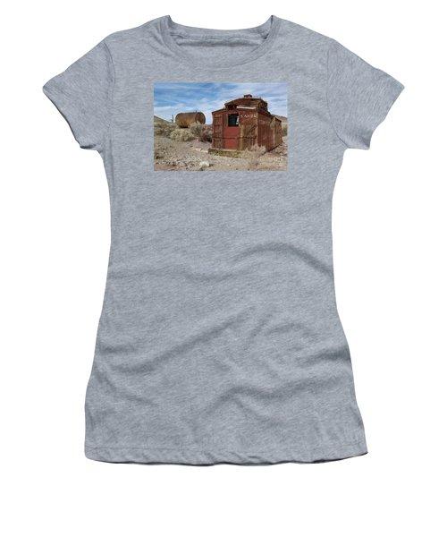 Abandoned Caboose Women's T-Shirt