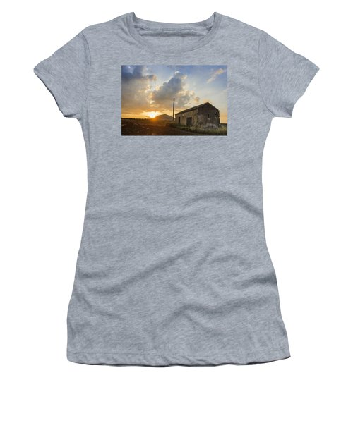Abandoned Warehouse Women's T-Shirt (Athletic Fit)