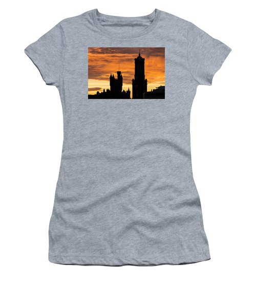 Aberdeen Silhouettes Women's T-Shirt (Athletic Fit)