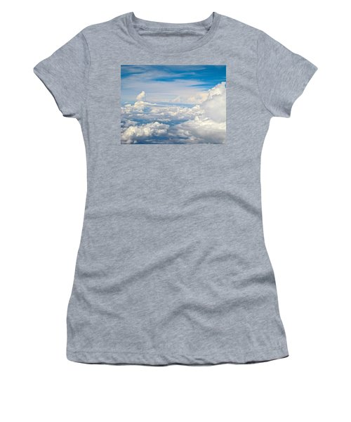 Above The Clouds Over Texas Image B Women's T-Shirt