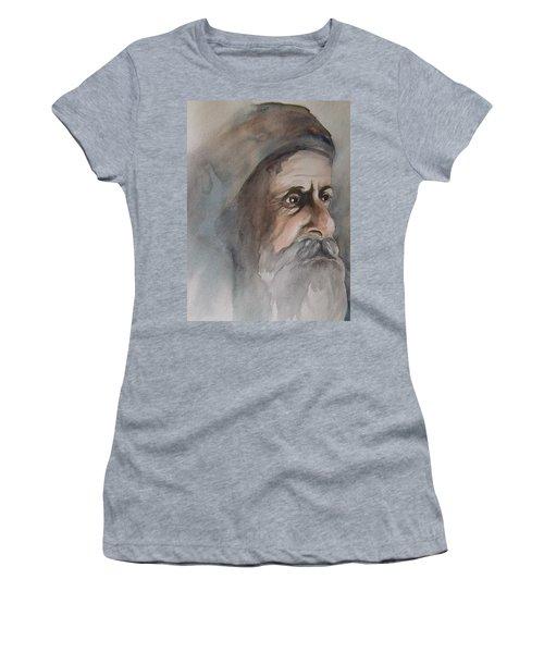 Abraham Women's T-Shirt (Junior Cut) by Annemeet Hasidi- van der Leij