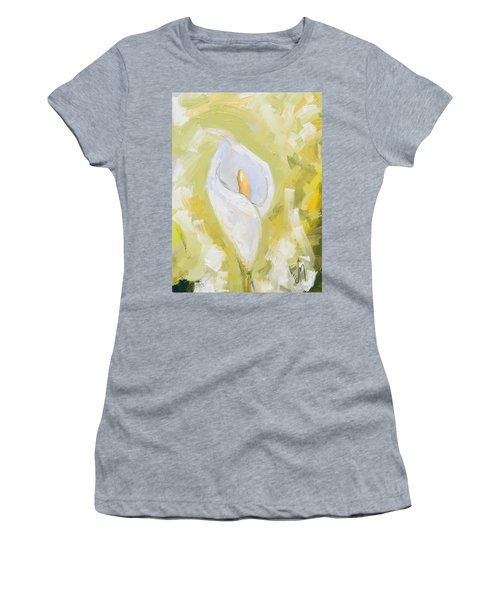 Abstract Calla Lily Women's T-Shirt