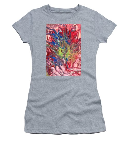 Abstract - Nail Polish - The Meaning Of Life Women's T-Shirt