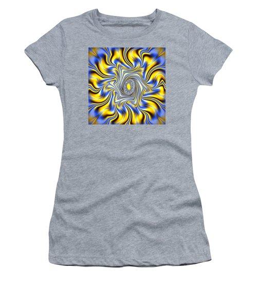 Abstract Spun Flower Women's T-Shirt