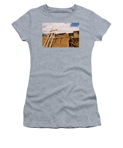 Acoma Building Women's T-Shirt (Athletic Fit)