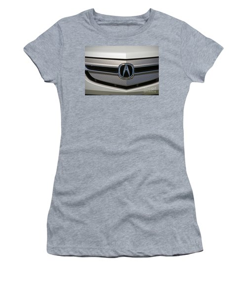 Acura Grill Emblem Close Up Women's T-Shirt (Athletic Fit)