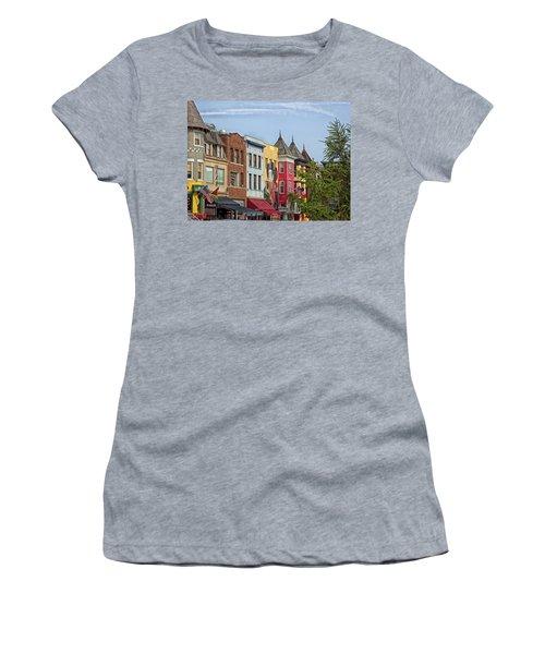 Adams Morgan Neighborhood In Washington D.c. Women's T-Shirt
