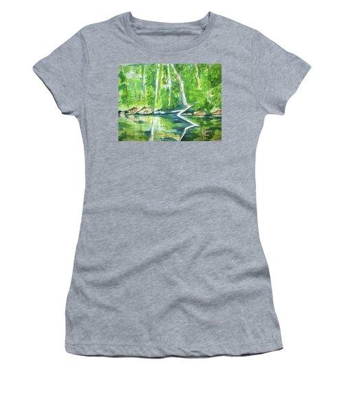 Adirondack Zen Women's T-Shirt (Athletic Fit)