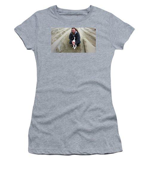 Adoring Look Women's T-Shirt (Junior Cut) by Susan Garren