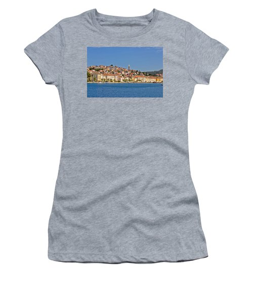 Adriatic Town Of Mali Losinj View From Sea Women's T-Shirt (Athletic Fit)