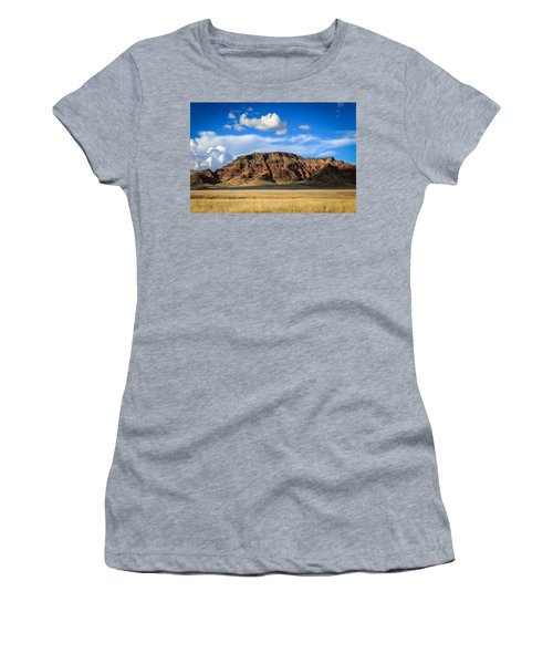 Aferican Grass And Mountain In Sossusvlei Women's T-Shirt