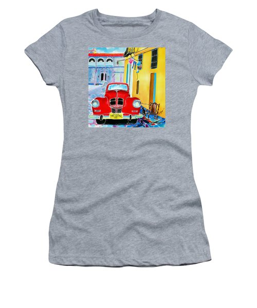 Afternoon In Havana Women's T-Shirt