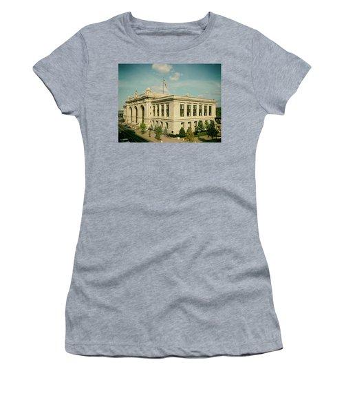 Albany's Historic Union Station Women's T-Shirt