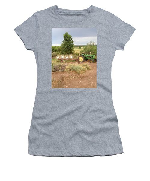 Women's T-Shirt (Junior Cut) featuring the photograph Alfalfa Time by Erika Chamberlin