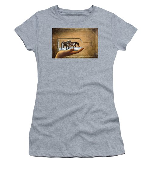 All Bottled Up Women's T-Shirt (Athletic Fit)
