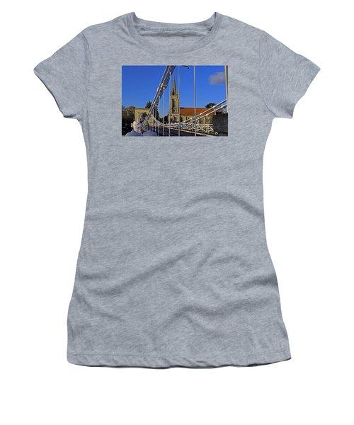 All Saints Church Women's T-Shirt (Athletic Fit)