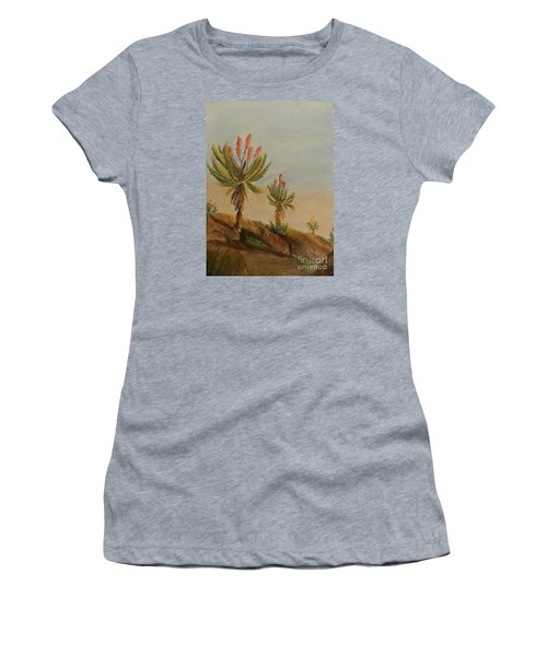 Aloes Women's T-Shirt (Athletic Fit)