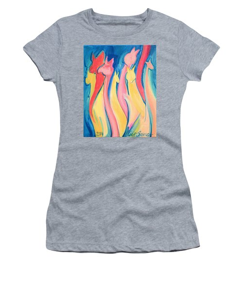 Alpaca Flames Women's T-Shirt