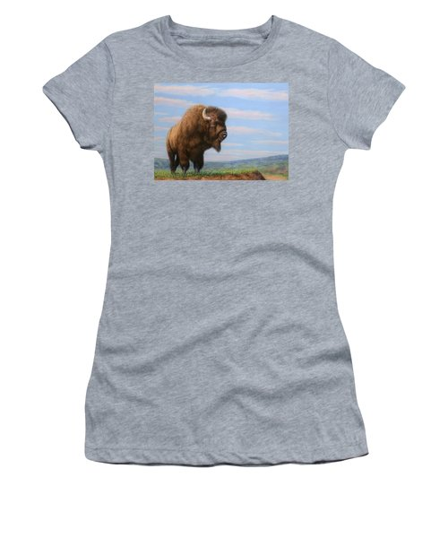 American Bison Women's T-Shirt (Athletic Fit)