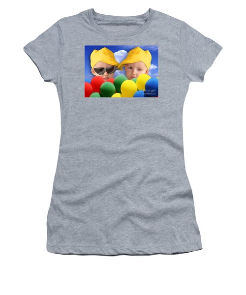 An Image Of A Photograph Of Your Child. - 07a Women's T-Shirt