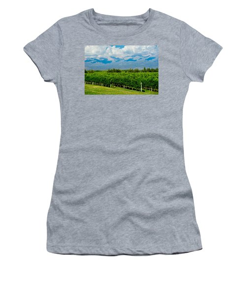 Andes Vineyard Women's T-Shirt (Athletic Fit)