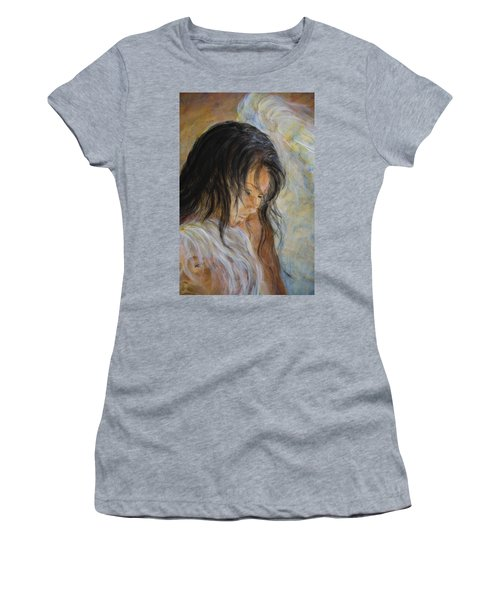 Angel Face Women's T-Shirt (Athletic Fit)